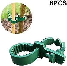 KINGLAKE 8 Pcs Tree Stake Supports Adjustable Tree Plant Ties (24cm/9.4inch)