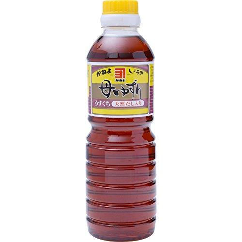 横山醸造 カネヨ 母ゆずり淡口醤油 500ml