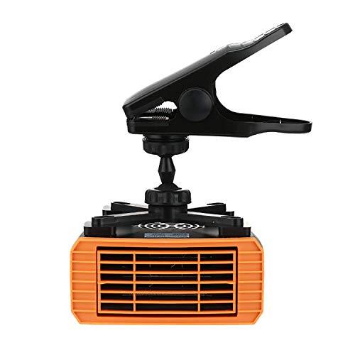 HEATER Encendedor de cigarrillos portátil para coche, antivaho, 200 W, 24 V, 2 en 1, mini descongelador de coche, con mango ergonómico, anticongelador, descongelador de fuego eléctrico