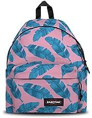 Eastpak Padded Pak'r Mochila, 40 cm, 24 L, Rosado (Brize Leaves Pink)