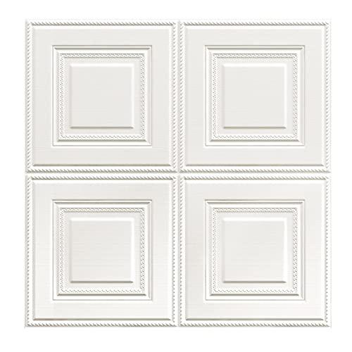 ZYQ Los 70 * 70cm 10 PCS XPE Estéreo 3D Pegatinas de Pared Decorativas Autoadhesivas Blanco (Color : White, Size : 770 * 700 MM)