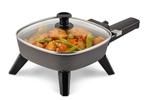 Toastmaster Electric Skillet, 6 inch, Black