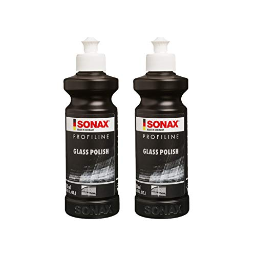2x 250ml SONAX PROFILINE GLASSPOLISH GLASS GLAS POLISH GLASPOLITUR POLITUR
