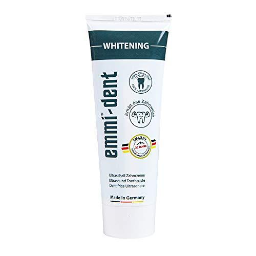 emmi®-dent Zahnpasta für Ultraschallzahnbürsten – Whitening – mit Sogwirkung, 75 ml (1 Stück)