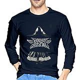 ブルームン Tシャツ 長袖 Babymetal トレーナー シャツ 上着 ファッション カットソー M Navy 綿 メンズ レディース