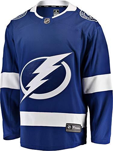 Fanatics Tampa Bay Lightning Breakaway NHL Trikot Home Blau, L