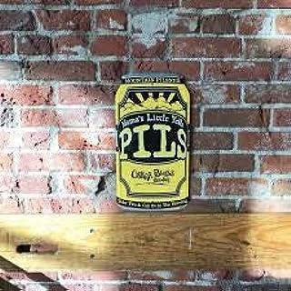"Oskar Blues Brewery - Mama`s Little Yella Pils - 12oz Can Sign Tacker - 9"" x 17 1/2"""