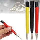 TMISHION Juego de bolígrafos con Cepillo para rascar para Reloj, 3 unids/Set, Cepillo para Eliminar óxido, Piezas de Reloj, Herramienta de Pulido, Accesorio de reparación de Relojes