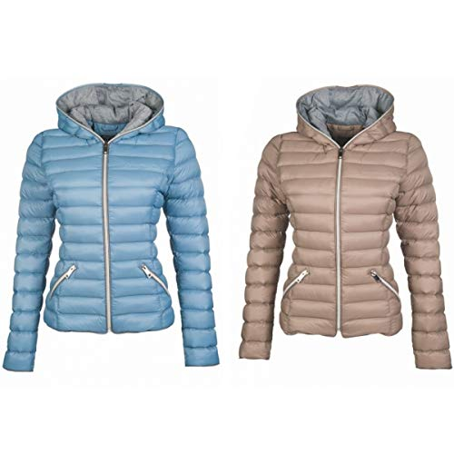 HKM by Reiterladen24 Damen 4057052432149 Steppjacke, Taupe, XL