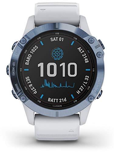 Garmin fēnix 6 Pro Solar, Reloj GPS Multideporte con energía Solar, características...