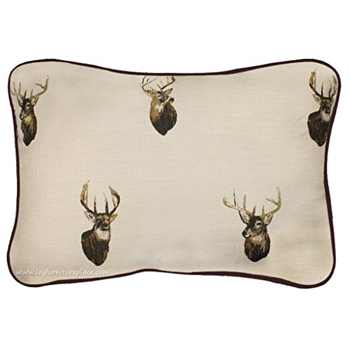 Browning Whitetails Oblong Pillow