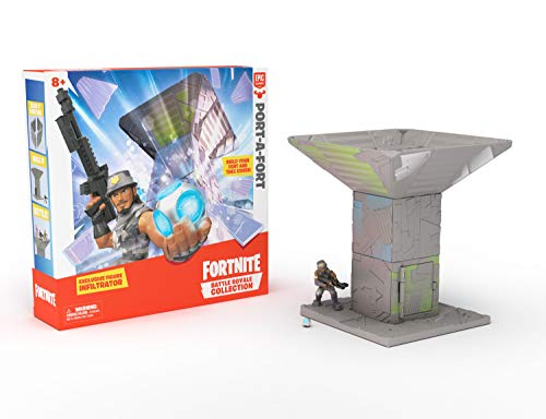 Fortnite Battle Royale Collection: Port-A-Fort Playset & Infiltrator Figure