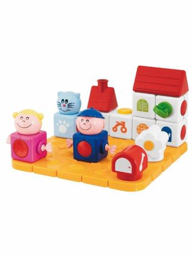 Chicco Jouet premier âge Jeu de construction Ma Maison Magique Blocks