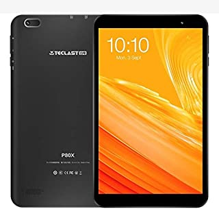 SHIHUI Cellphone P80X Tablet, 8.0 inch, 2GB+32GB, Android 9.0, Unisoc SC9863A Octa-core CPU, Support Bluetooth & WiFi & GPS & TF Card, Network: Dual 4G (Black) (Color : Black)
