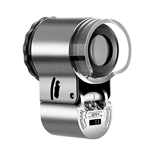 CKQ-KQ 50 Times Met Licht Microscoop Mini - Focusable Magnifier - Crafts Antieke Jade sieraden beoordeling Microscope