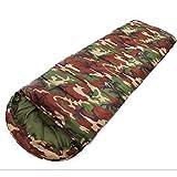 Mini saco de dormir estampado Mountain Warehouse -Bolsa de camping con forma de momia, liviana, bolsa de dormir de aislamiento al aire libre -Para mochileros, festivales y caminatas ( Size : 1900g )