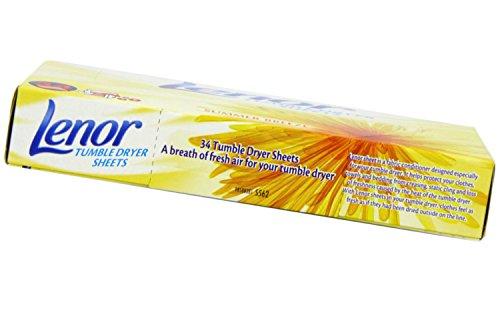 Lenor Hojas Secadora de Ropa Summer Breeze Box 34 (Pack de 1)
