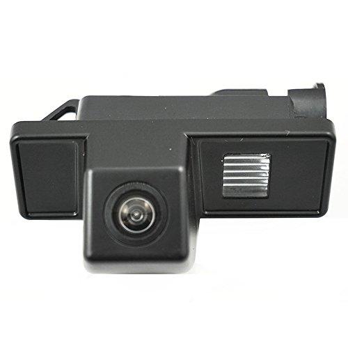 HDMEU Appareil-photo Large Imperméable de Vue arrière de Voiture de Plaque Minéralogique D'angle de Visualisation avec la Vision Nocturne pour Vito RV-MV Nissan Navara Citrone C4 C5 KIA CAR