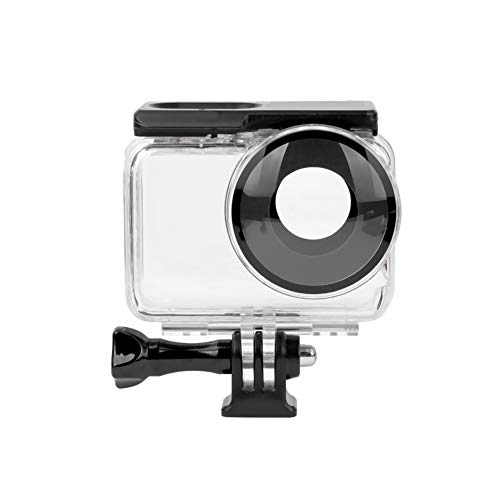 Ansemen Carcasa Impermeable de 60 m para Insta360 One R Action Camera - Dispositivo de Fotografía Submarina con Adaptador de Tornillo 1/4