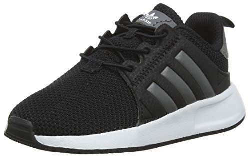 adidas Unisex Baby X_PLR EL Sneaker, Schwarz (Core Black/Grey/Footwear White 0), 26 EU