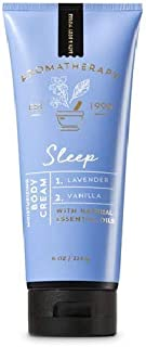 Bath and Body Works Aromatherapy SLEEP - LAVENDER VANILLA Body Cream 8 Ounce (Retired Fragrance)