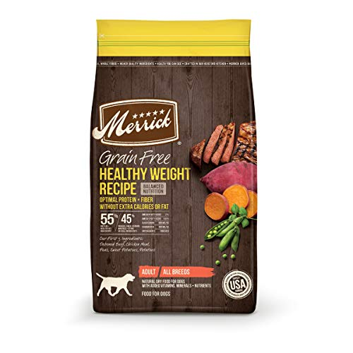 Merrick Grain Free Dry Dog Food Healthy Weight Recipe - 22 lb. Bag