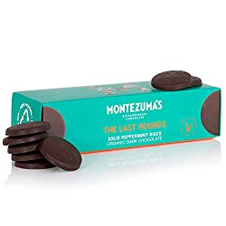 Dark Chocolate with Peppermint soild disks Vegan and gluten-free: We're pleased to say all our chocolate is gluten-free and we also have a wide range of vegan-friendly and organic chocolates, certified by the Soil Association Eco Friendly and sustain...