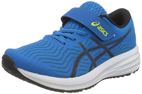 Asics Patriot 12 PS, Road Running Shoe, Directoire Blue/Black, 34.5 EU