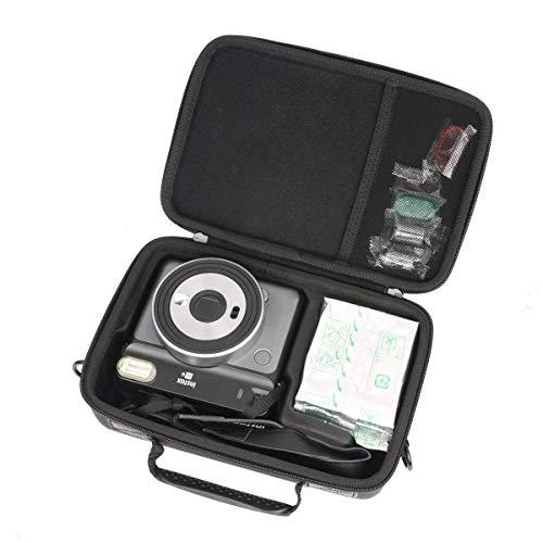 Khanka Hart Tasche für Fujifilm Instax SQ 6 EX D Sofortbildkamera und Colorfilm klar Pack Zubehör Case Schutzhülle.