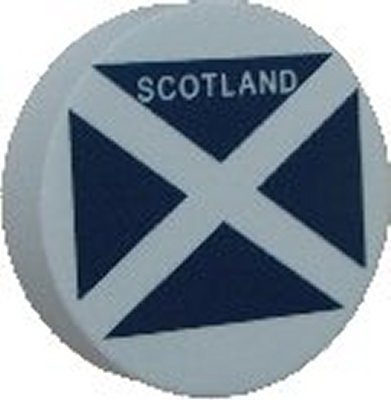 Scotland Flag Disc Car Aerial Ball Antenna Topper OR Dashboard Wobbler!...