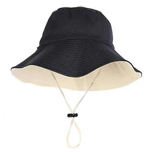 Cappello da Pescatore Pieghevole ,Cappello Double Face ,Cappello da Sole,All'Aperto Viaggio Visiera Solare Moda smtym
