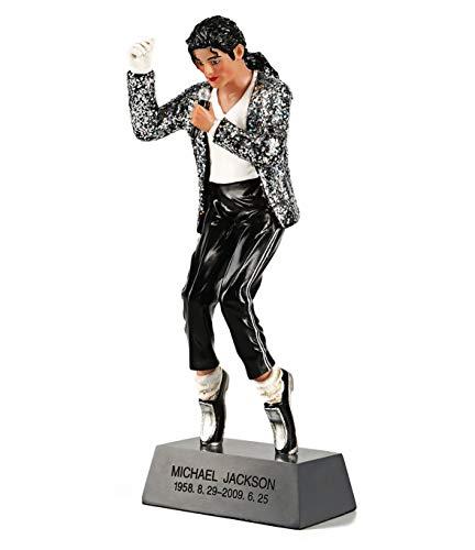 Ozuko Michael Jackson Figura de accion Rey de Pop Doll conmemorativa estatua para el hogar sala de estar escritorio decoracion