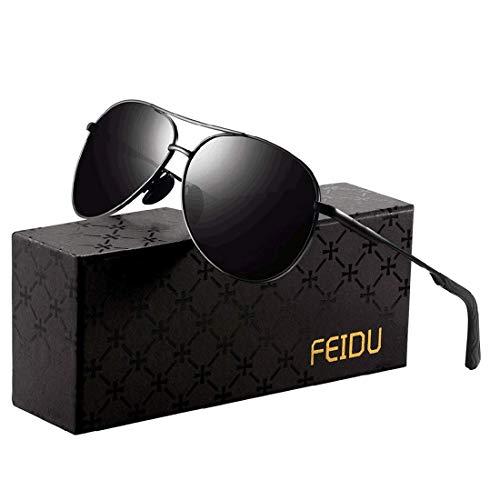 FEIDU Sunglasses man - Pilot sun...
