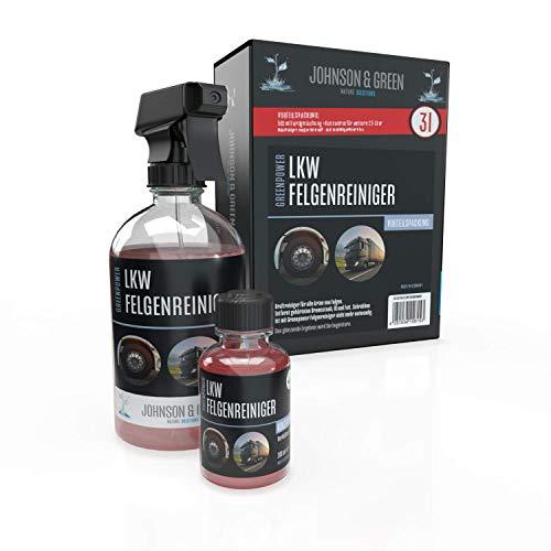 Johnson & Green Nature Solutions Greenpower LKW Felgenreiniger Vorteilspack für bis zu 3 Liter