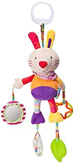 Baby Hanging Rattles Toys, Newborn Crib Toys Car Seat Stroller Toys for Infant