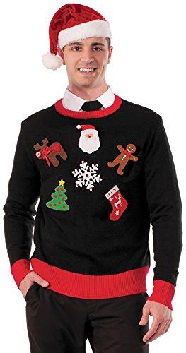 Forum Novelties Christmas DIY Ugly Sweater Accessory Pin Kit