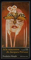 ポスター ジャック プレヴェール Papillon 1987 額装品 ウッドハイグレードフレーム(ブラック)