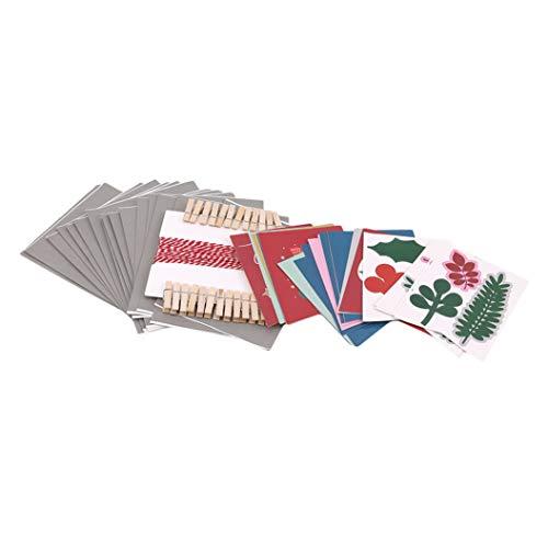 LPOQW Juego de 25 calendarios de Adviento para colgar con bolsas de regalo, bolsas de caramelos, adornos de Navidad, decoraciones de fiesta, accesorios de regalo
