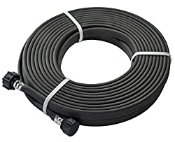 professional Green Mount 04070P Garden Immersion Hose 1/2 inch 50ft Flower Bed, Heavy Duty for Seedlings