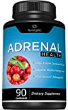 Premium Adrenal Support Supplement - Adrenal Formula for Energy, Adrenal Health & Mood – Adrenal Complex Includes Ashwagandha, L-Tyrosine, Holy Basil & Acerola –90 Capsules