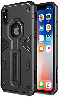 NILLKIN DEFENDER II BACK COVER FOR IPHONE X BLACK