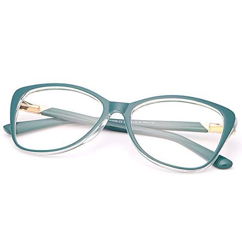 Gafas Luz Azul, Gafas Anti-luz Azul, Gafas Antifatiga, Gafas de Ordenador, Blue Light Blocking Glasses, Gafas de Pantalla, Antiluz Azul, Anti UV, Gafas para Ordenador Gaming PC para Hombre Mujer