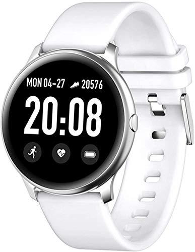 Reloj inteligente de las mujeres de la manera impermeable de los deportes de la aptitud reloj de lujo de la frecuencia cardíaca de las mujeres para Android IOS-D
