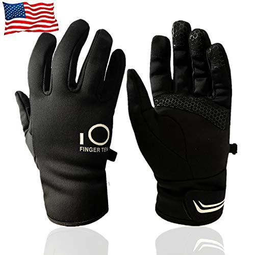 Winter Gloves Men Women Touch Screen Waterproof, Fleece Warm...