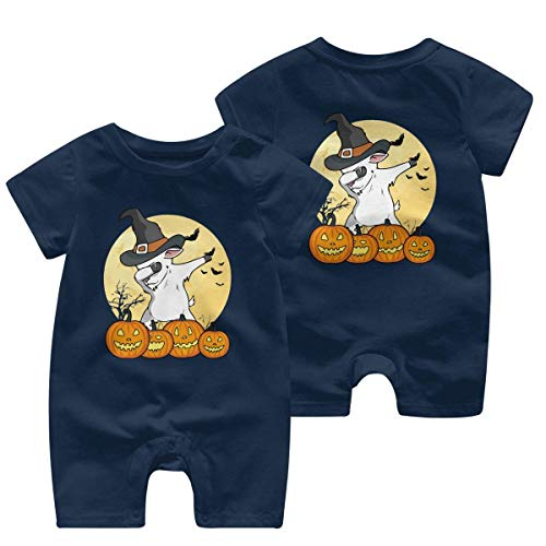 ZhuHanug English Bulldog Baby Boys Girls Short Sleeve Crew Neck T Shirts