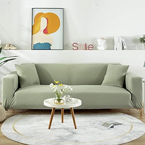 HZYDD Funda de sofá elástica, antideslizante, suave, protector de muebles lavable con parte inferior elástica de espuma antideslizante para niños
