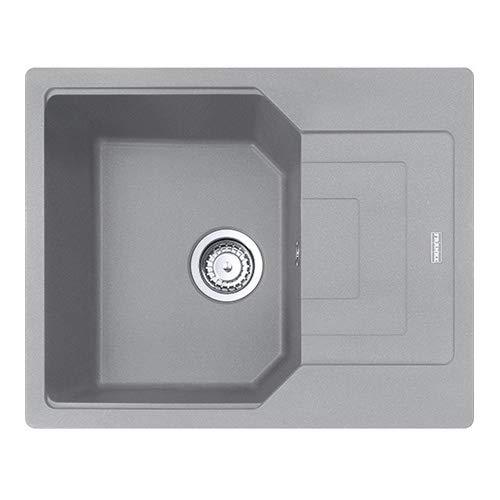 FRANKE UBG 611-62 Urban - Fregadero de granito, color gris