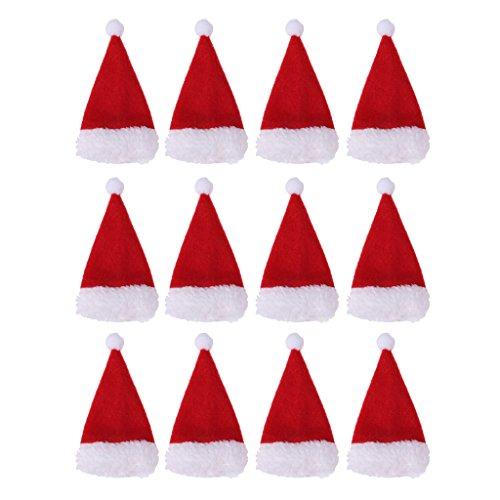 blesiya 12x sombrero manta de Navidad embalaje cumpleaños Vintage Retro Diseño decorativo