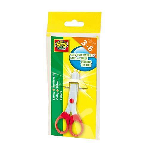 SES-Creative 833 Forbici di Sicurezza, Multicolore, Modelli/Colori Assortiti, 1 Pezzo