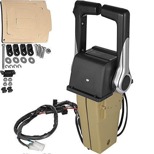 Mophorn Boat Throttle Twin Binnacle Remote Control Box Yamaha Outboards 704-48207-13 Outboard Remote Control Box Fit for Yamaha 704 Controls